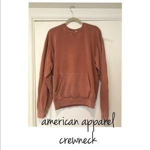 American Apparel French Terry Kangaroo Pullover